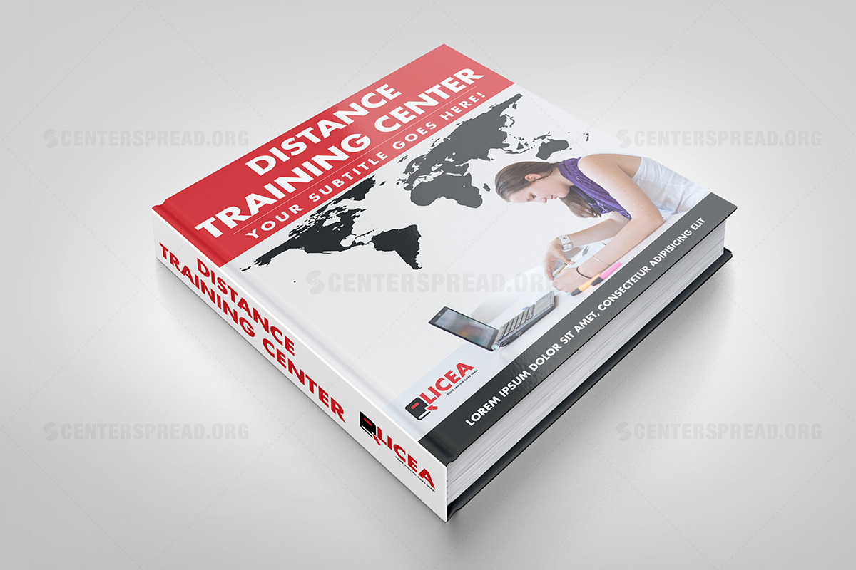 Book Cover Design Course : Elegant modern training book cover design for grupo