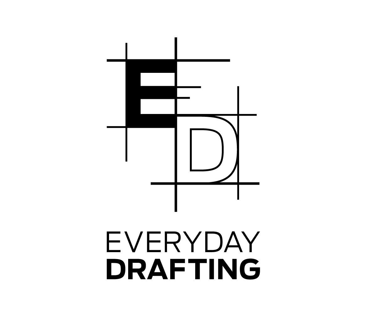 Modern elegant logo design for jacob estrada by evaecon for Architectural design drawing company