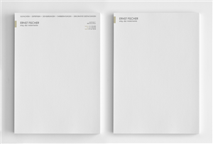 Letterhead Design by logodentity