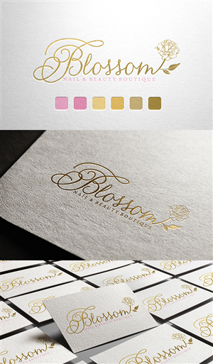 Logo Design 4289291 Submitted To Vintage Style Needed For New Nail