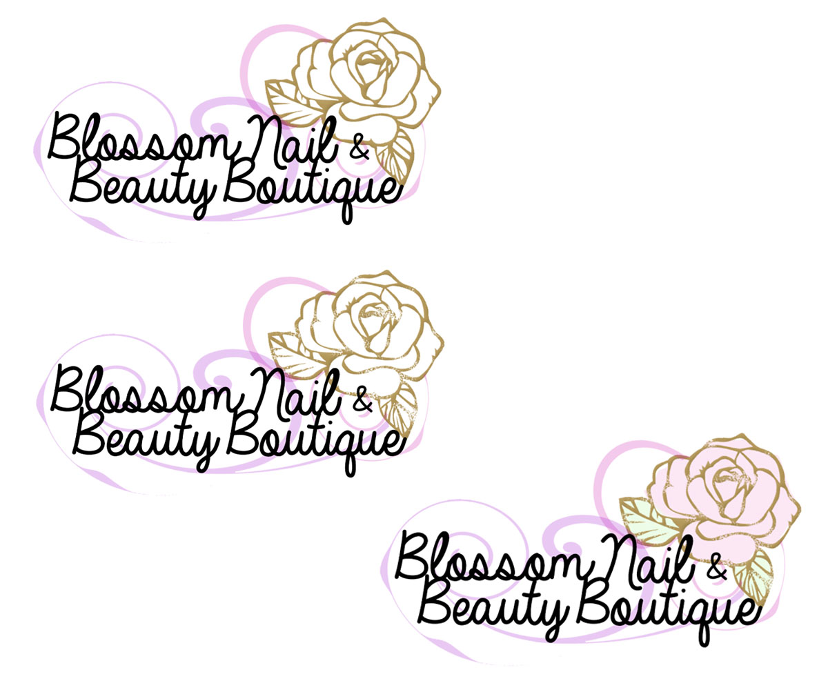 elegant feminine beauty salon logo design by quirky - Nail Salon Logo Design Ideas