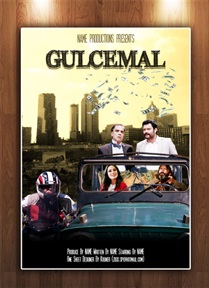 Poster Design by kogner - Movie Poster for a Comedy Movie - GULCEMAL