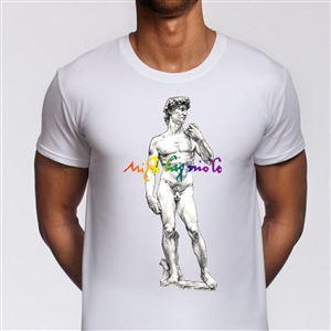 Illustration Design by SeXtreme - Tshirt that celebrates gay heroes