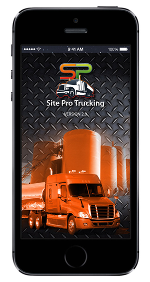 App Design by Luis Arriola - SitePro Trucking App