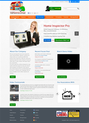 Web Design By Pb For Home Inspector Pro | Design: #1218175