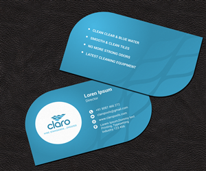 Water business card designs 97 water business cards to browse page 5 claro business card business card design by omee colourmoves