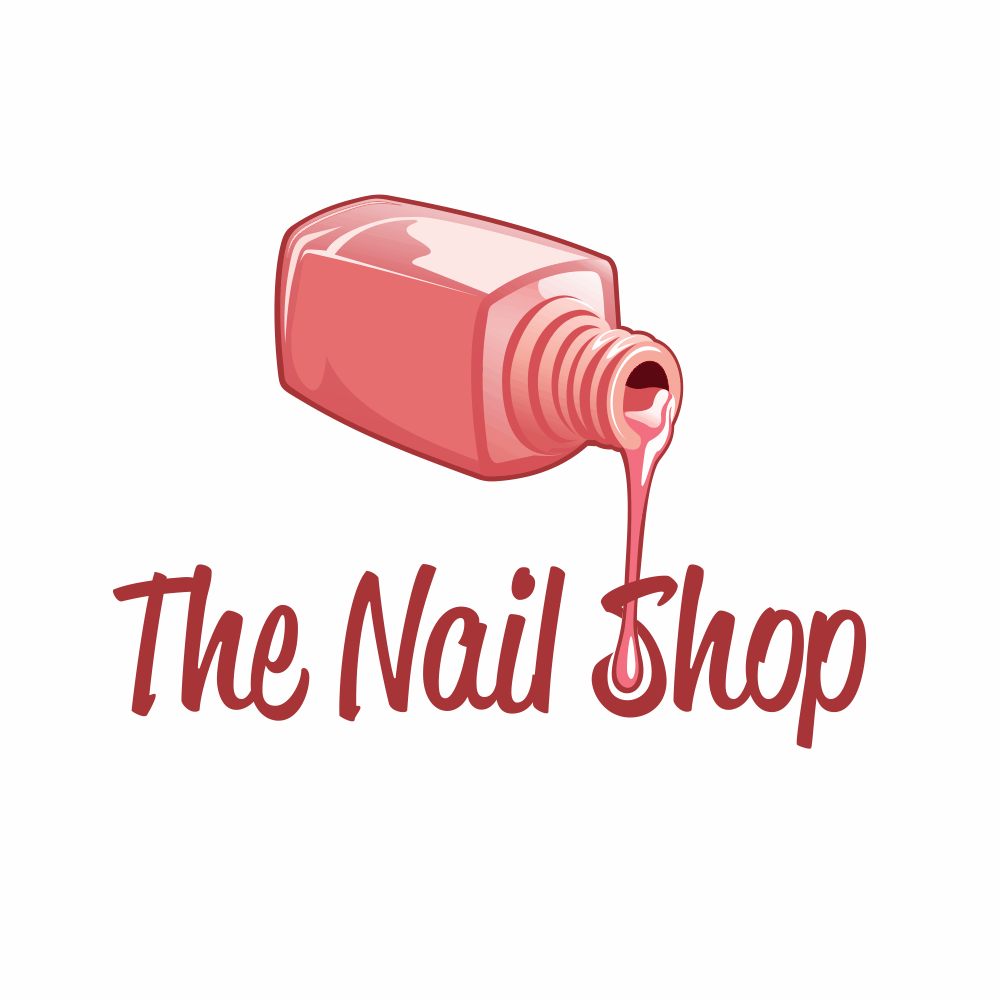 Salon Logo Design for The Nail Shop by Patricio | Design #4292814