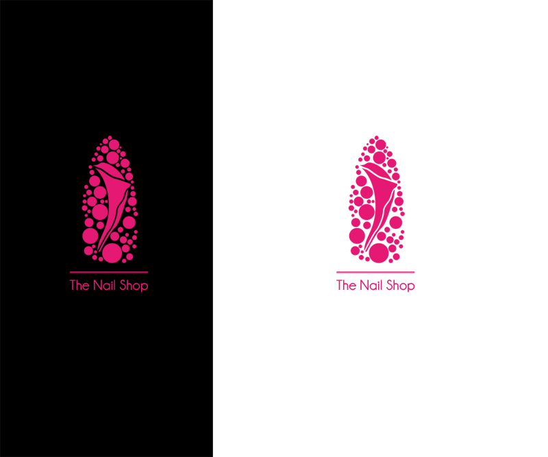 Salon Logo Design for The Nail Shop by rainbbit | Design #4286315