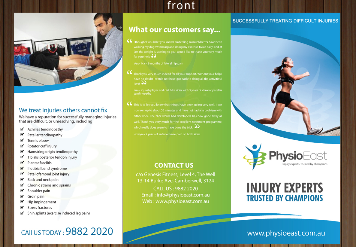 australian physical activity guidelines brochure