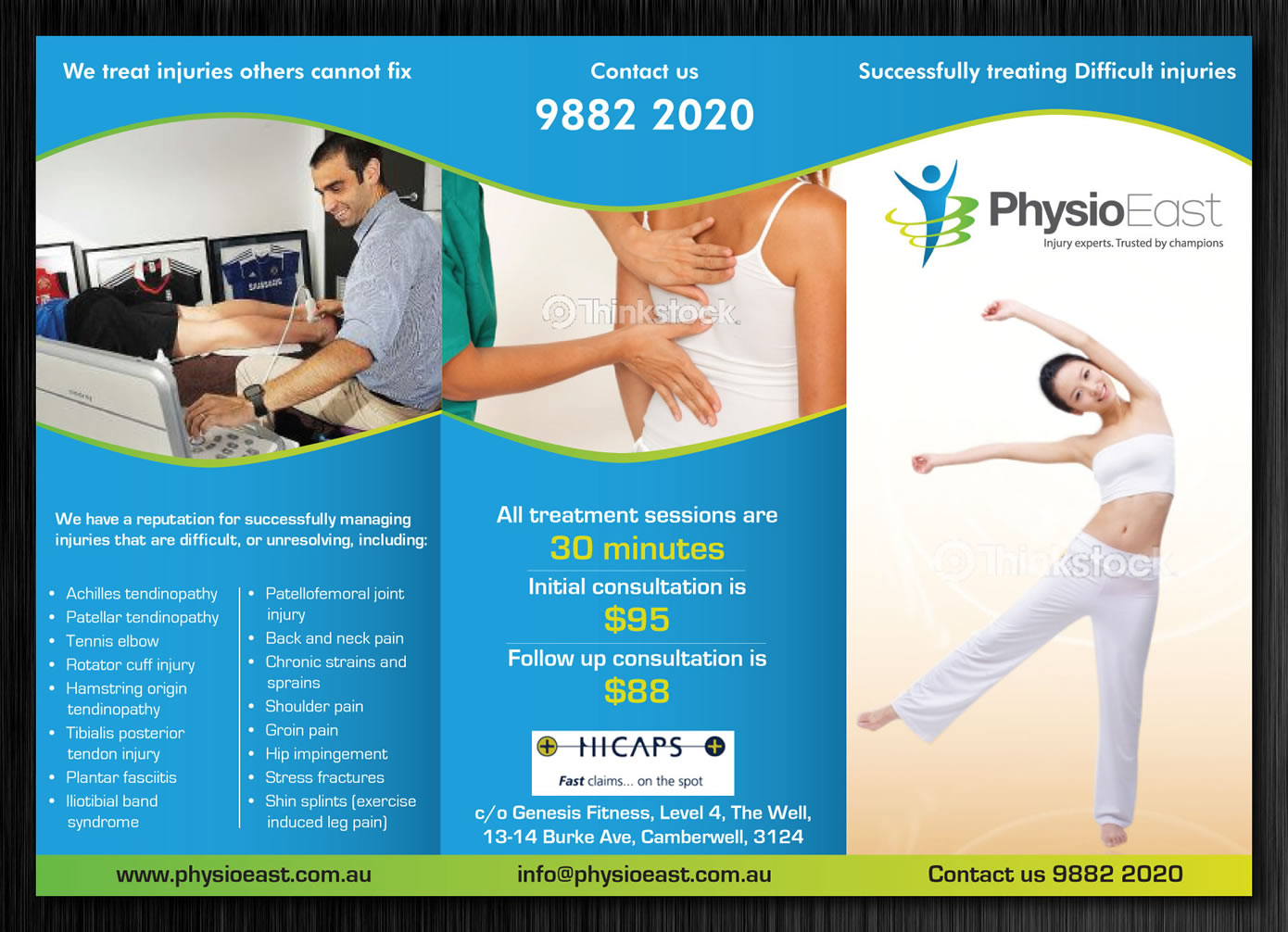 best brochure designs 2020 Professional, Serious, Clinic Brochure Design for a Company by