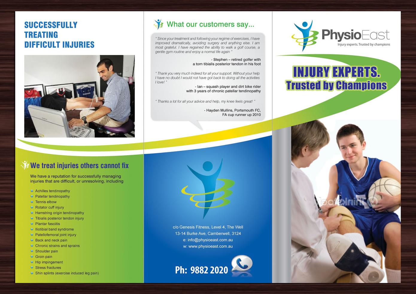 ngo brochure templates