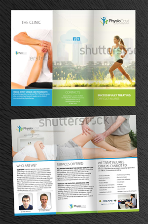 Brochure Design by Phobos - Brochure to advertise our unique physiotherapy ...