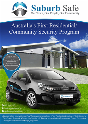 Poster Design by ALSADESIGN - Australia's first Residential Security Program