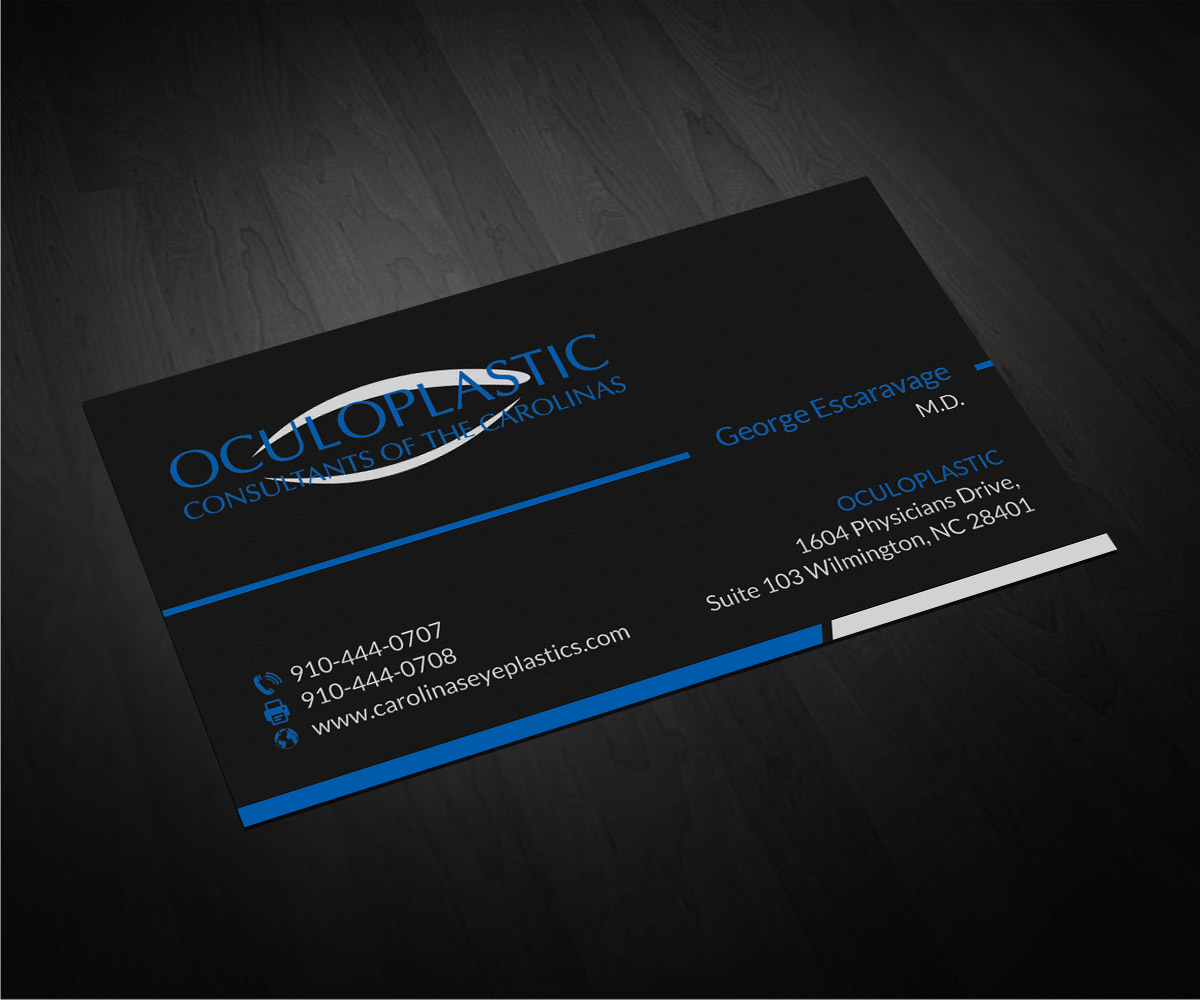 Plastic Business Card Design for a Company by Smart Designs | Design ...