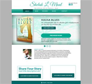 Wordpress Design by Ritesh S. - Author needs hybrid Wordpress website/blog to p...