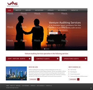 Web Design by pb - International oil and gas consultancy business ...