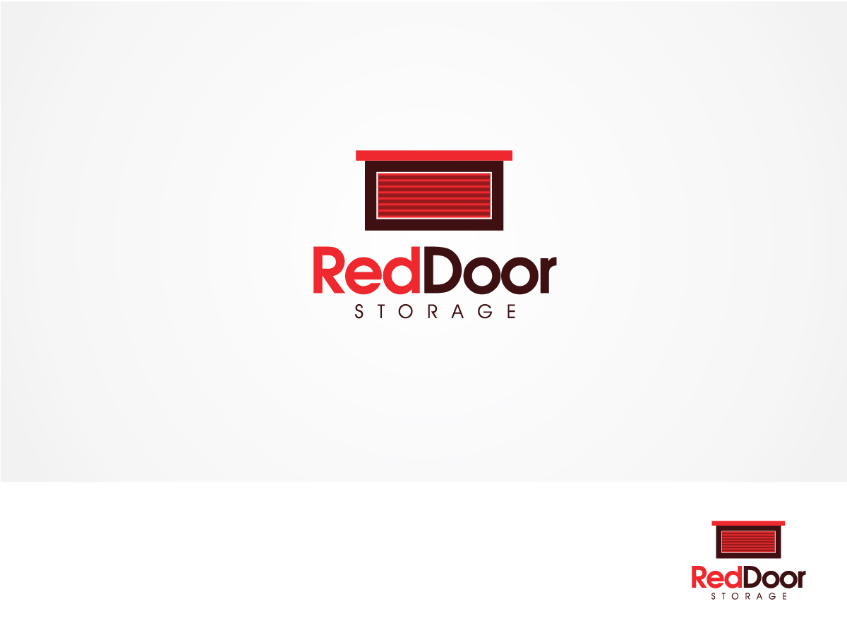Professional, Bold, Store Logo Design for Red Door Storage