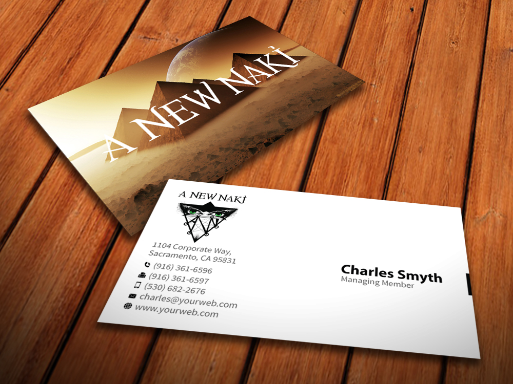 Business Card Design for Ben Graham by MediaProductionArt | Design ...