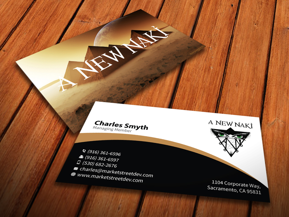 Events Business Card Design For A Company By Mediaproductionart