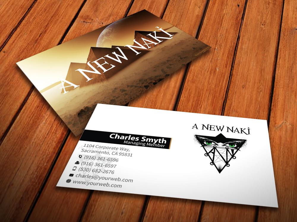 Business Card Design for Ben Graham by MediaProductionArt | Design ...