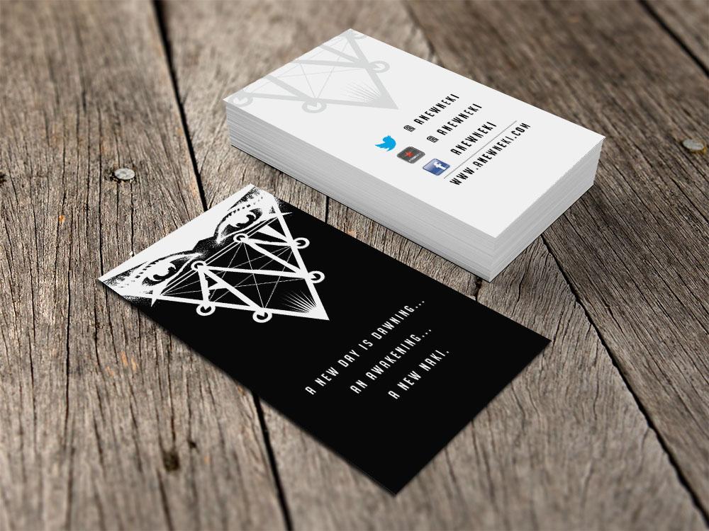 Business Card Design for Ben Graham by Eggo May P | Design #4326003