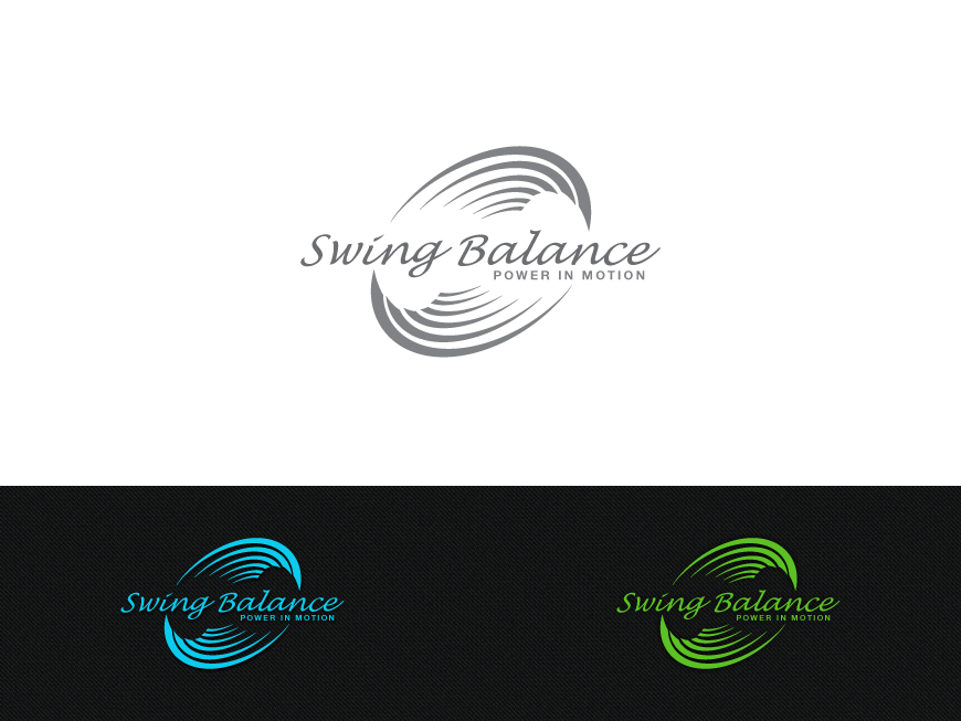 Golf Swing Logo Logo Design by Costur For Golf