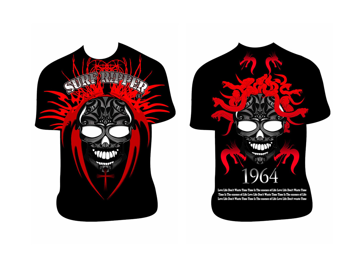 Bold serious t shirt design for sean white by ameer fahi Designs com