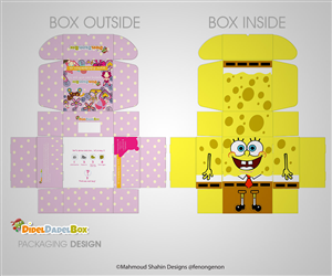Packaging Design by Mahmoud Shahin - DidelDadelBox - Suprise Box with learning toys ...