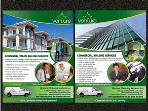 Flyer Design job – Flyer Design Project for Venture Cleaning Systems Inc. – Winning design by Sarmishtha Chattopadhyay