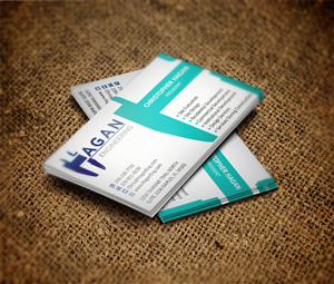 57 serious professional construction business card designs for a