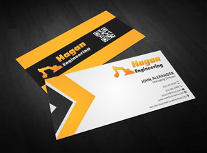 57 Serious Professional Construction Business Card Designs for a ...