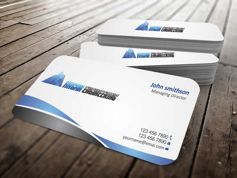 Serious professional business card design for marguerite amols by business card design by szabist for civil engineering business card design design 4315363 reheart Gallery