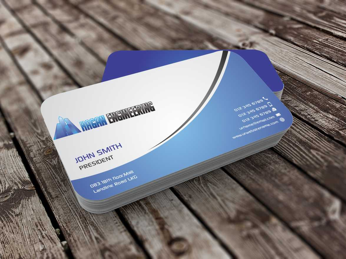 Serious professional business card design for marguerite amols by business card design by szabist for civil engineering business card design design 4315365 reheart Gallery