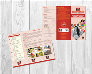 Brochure Design by sajidahmed_pirzada - Spicy Women - Fitness Retreat