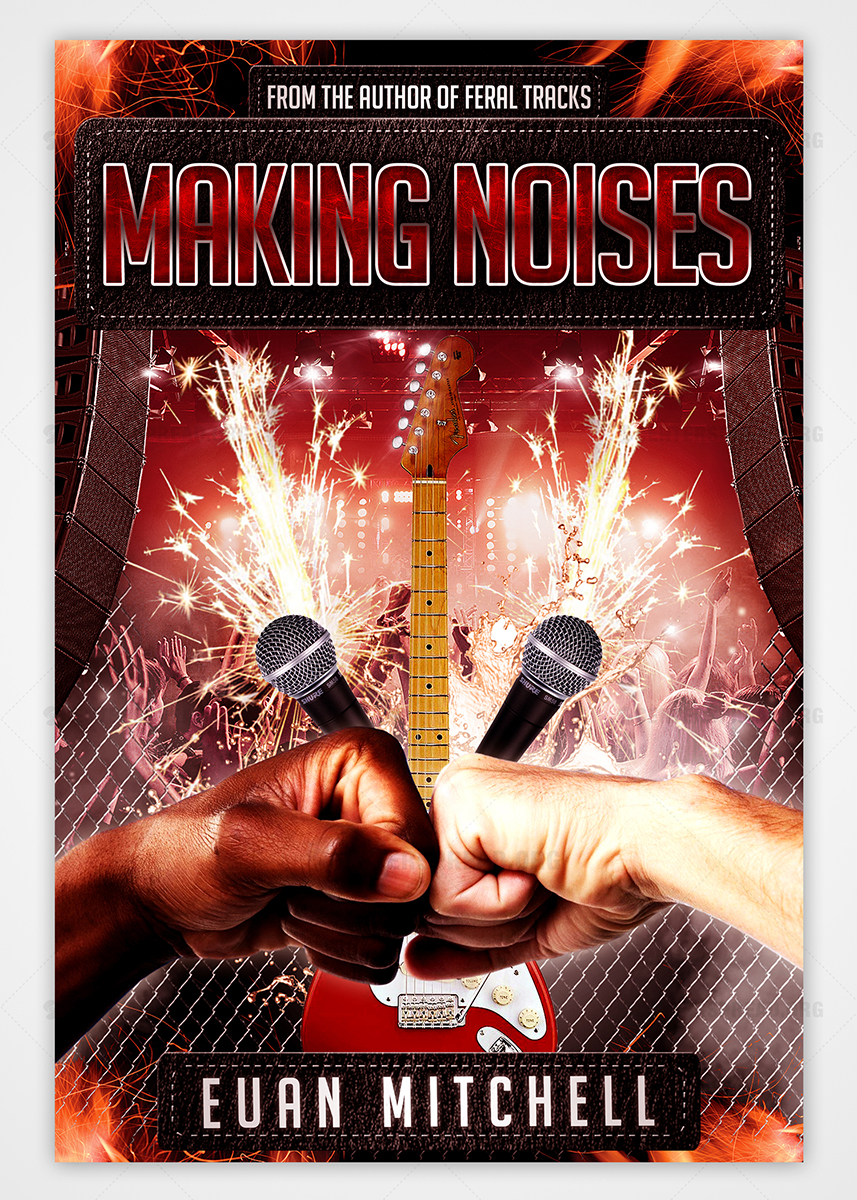 Music Book Cover Design ~ Book cover design for overdog press by centerspread