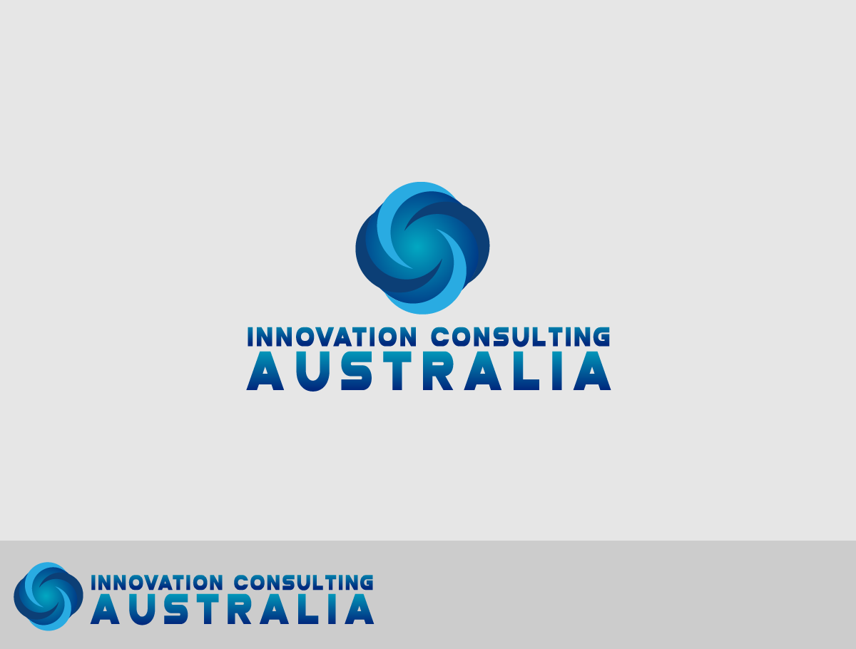 Business logo design for innovation consulting australia for Design innovation consultancy