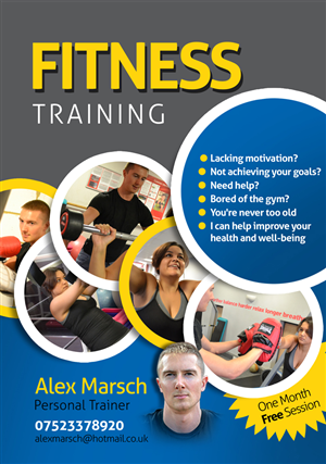 Personal Training Flyer Template from storage.designcrowd.com
