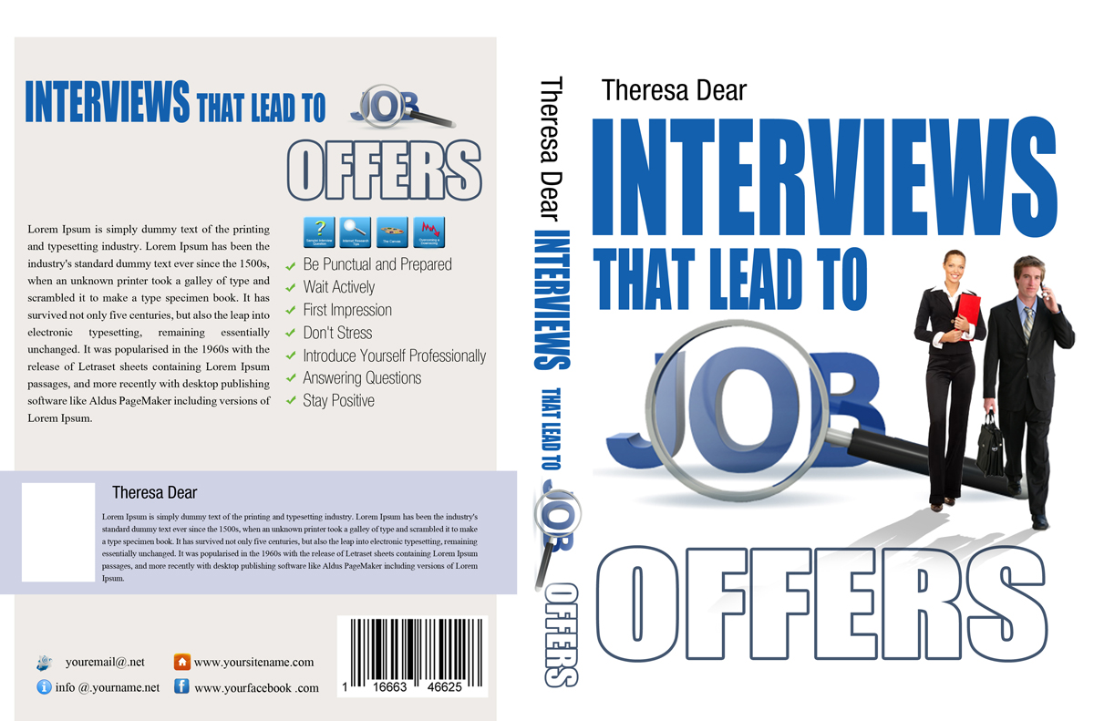 Book Cover Designing Jobs ~ Book cover design for theresa dear by vanes
