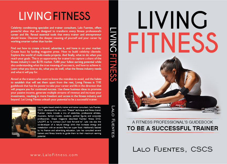 Exercise Book Cover Design ~ Advertising book cover design for a company by