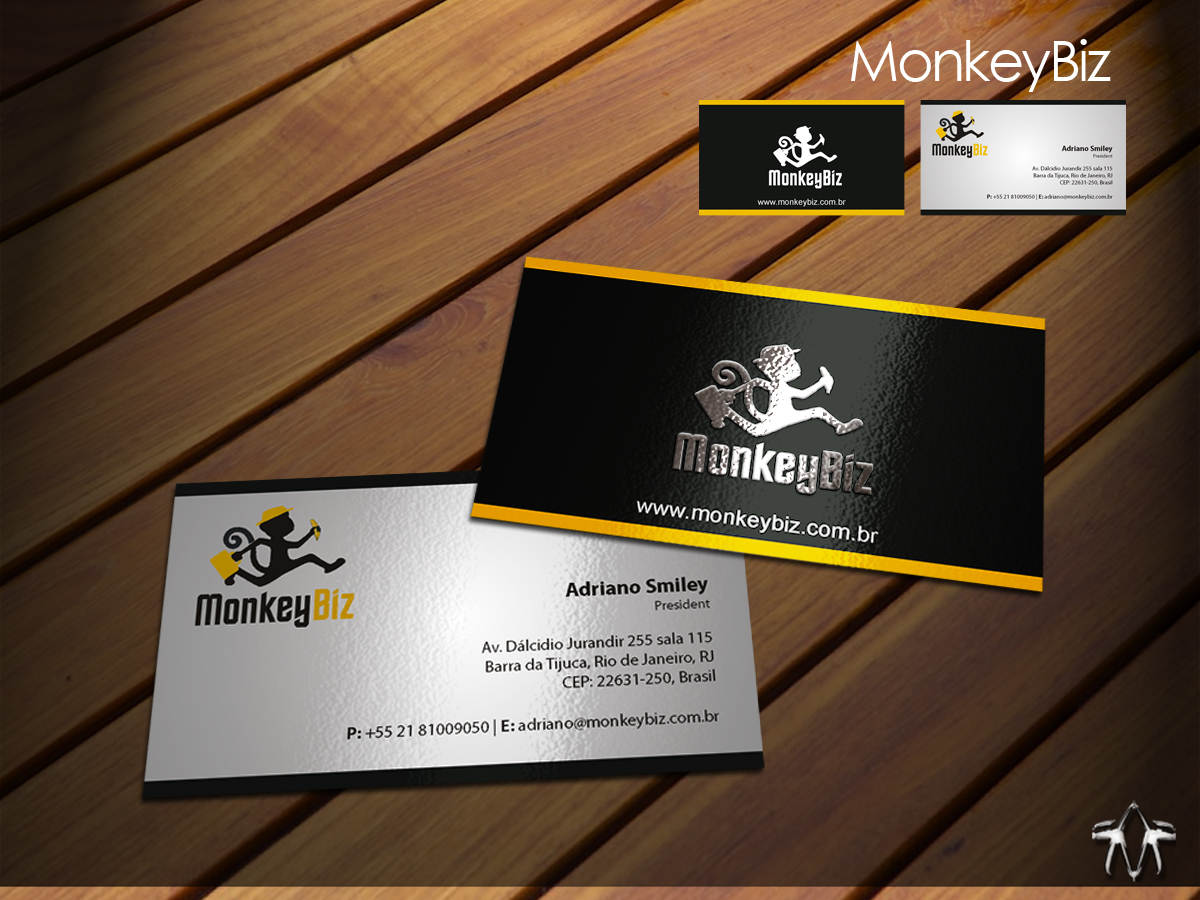 Elegant playful business business card design for a company by business card design by sadzip for this project design 1229084 reheart Images