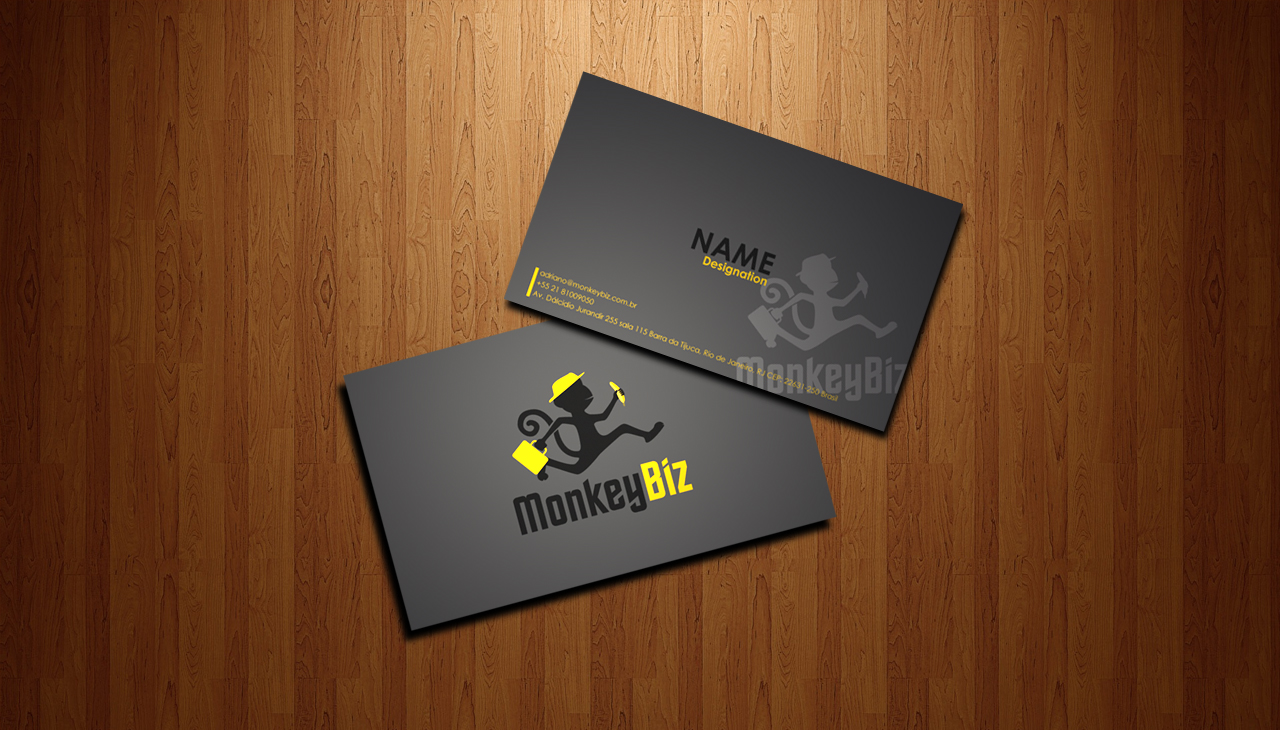 Elegant playful business business card design for a company by business card design by daniyal rafi for this project design 1240253 reheart Choice Image