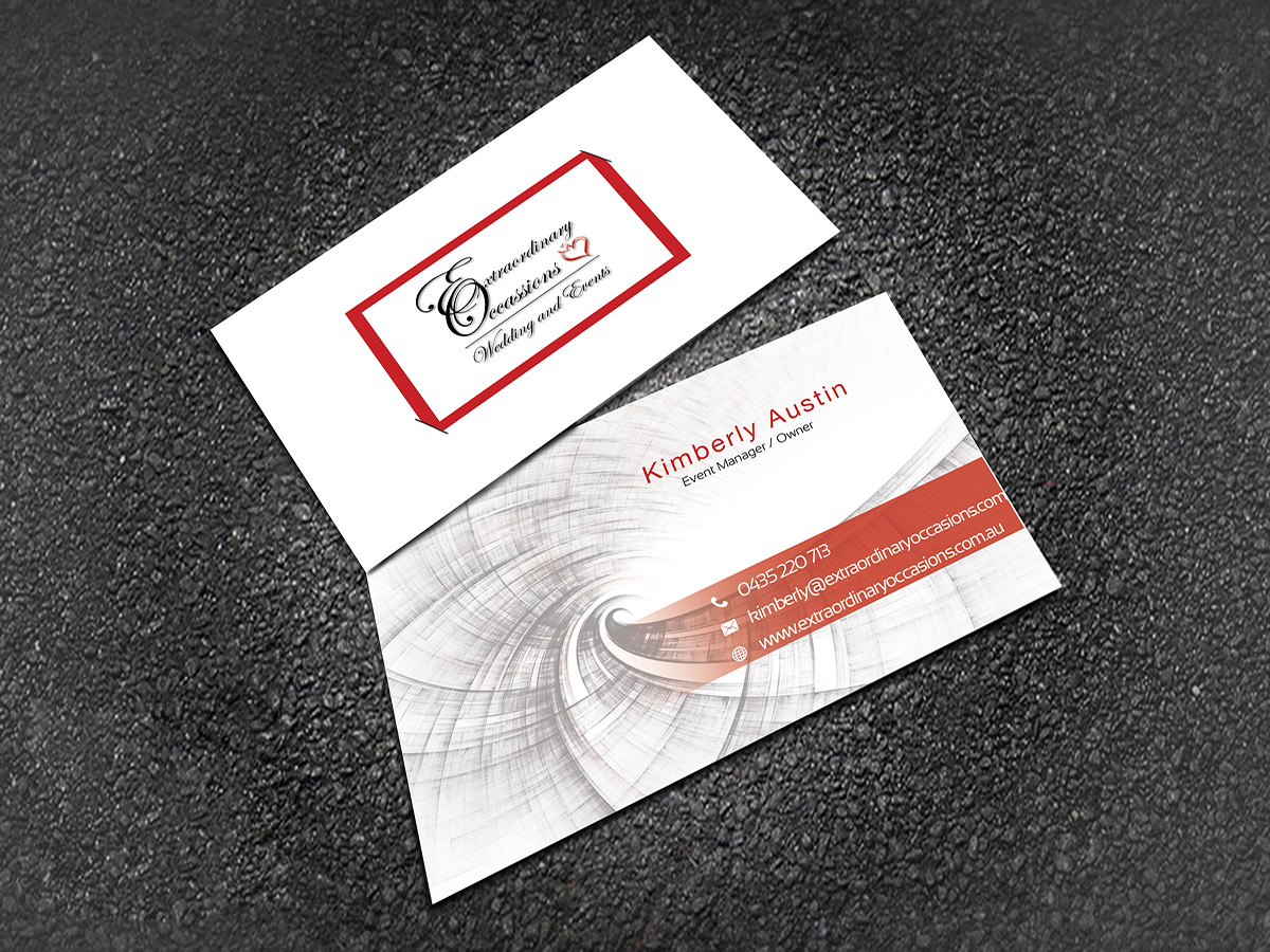 Elegant, Feminine, Business Business Card Design for a Company by ...