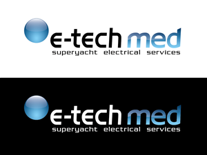 Logo Design by sD - E-TechMED - Superyacht Electrical Services