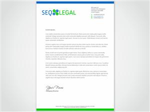 66 Professional Serious Legal Letterhead Designs For A