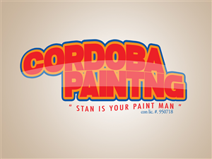 Playful professional painting logo design for cordoba painting logo design by jose gonzalez rosario for cordoba painting design 4339844 colourmoves