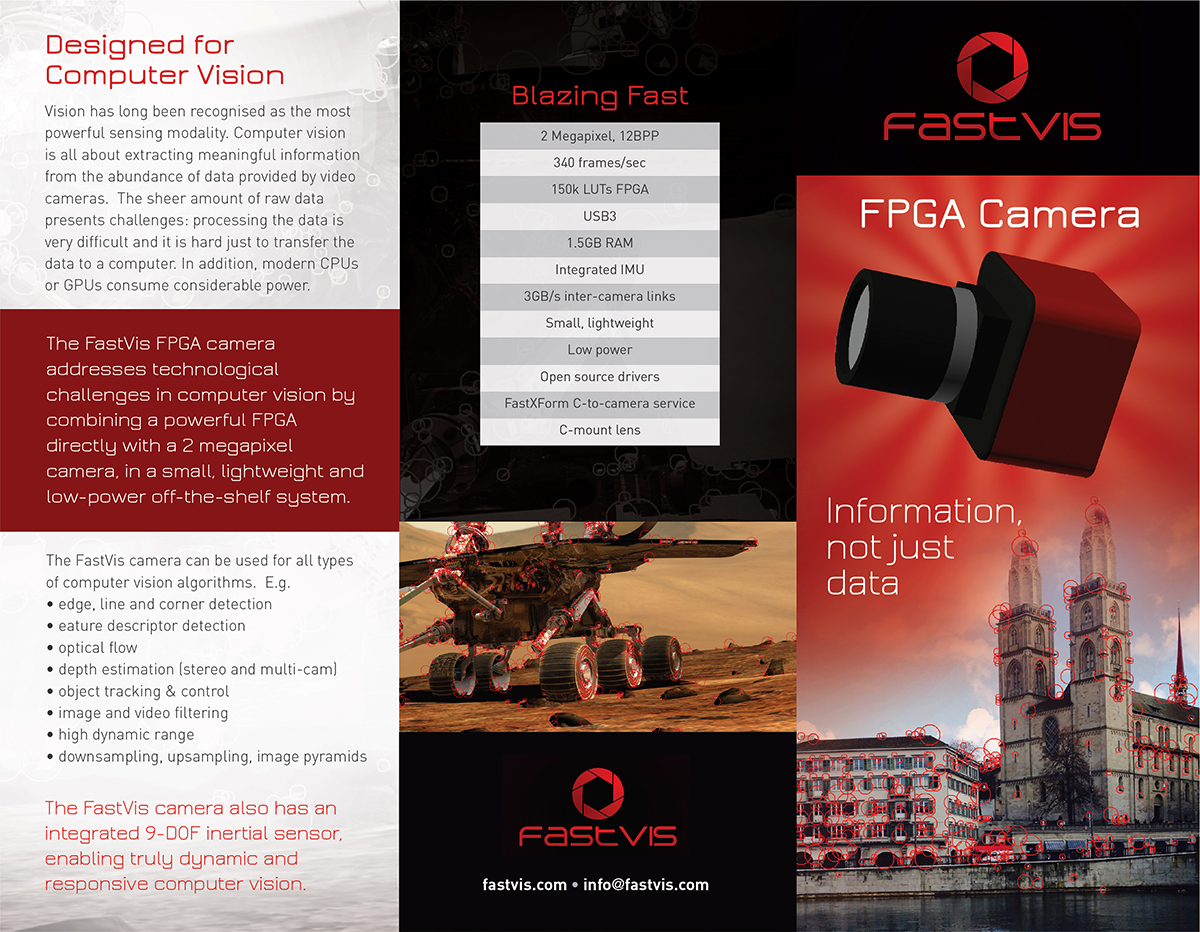 Modern, Upmarket, Camera Brochure Design for a Company by