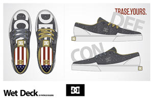 Graphic Design by pat_d_r - Design the Trase Shoe for DC Shoes