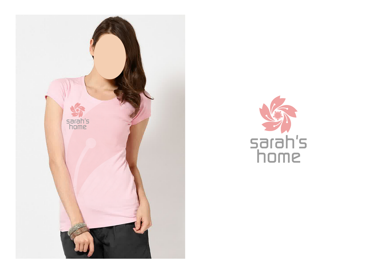 Modern, Upmarket T-shirt Design for Sarah\'\'s Home by DoveFendi ...