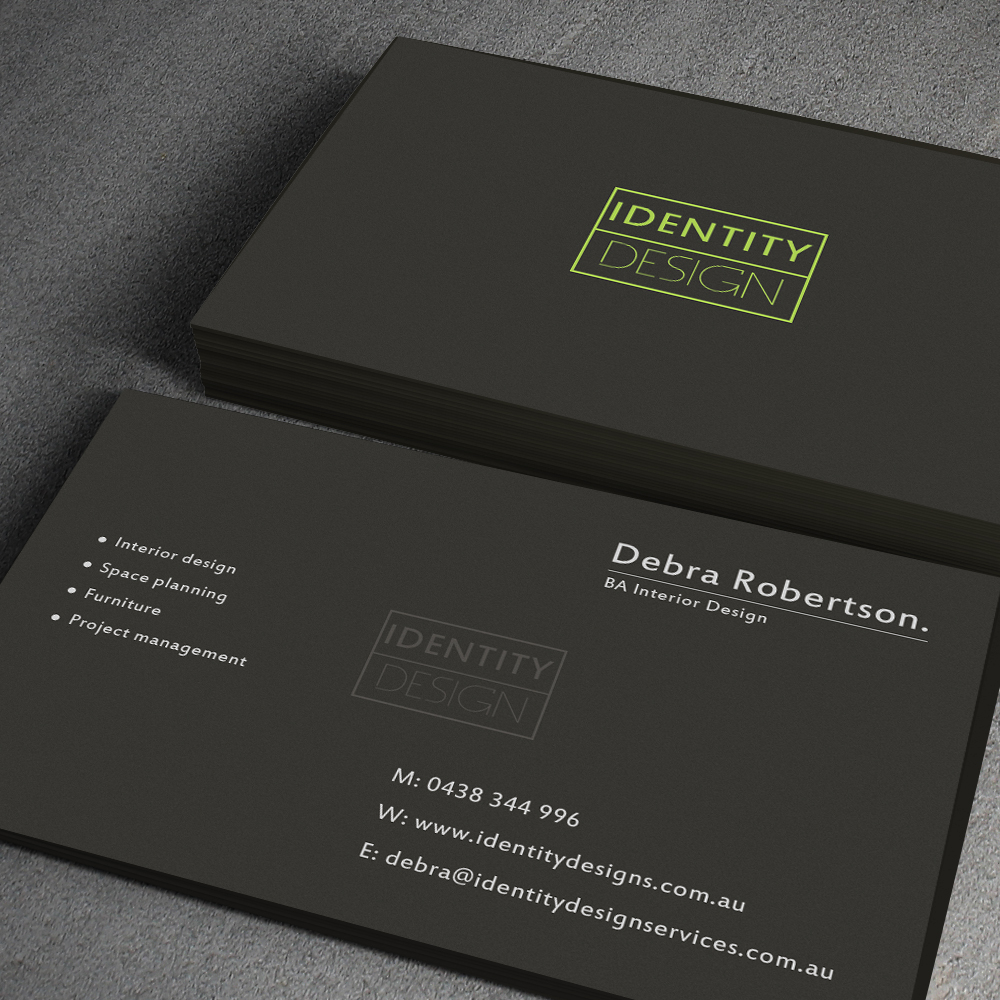 Modern Conservative Business Card Design For Debra Robertson By Junaid Ahmad Design 4374545