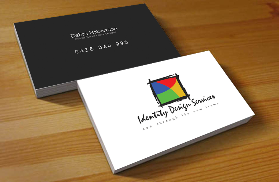Modern, Conservative, Construction Business Card Design for a ...